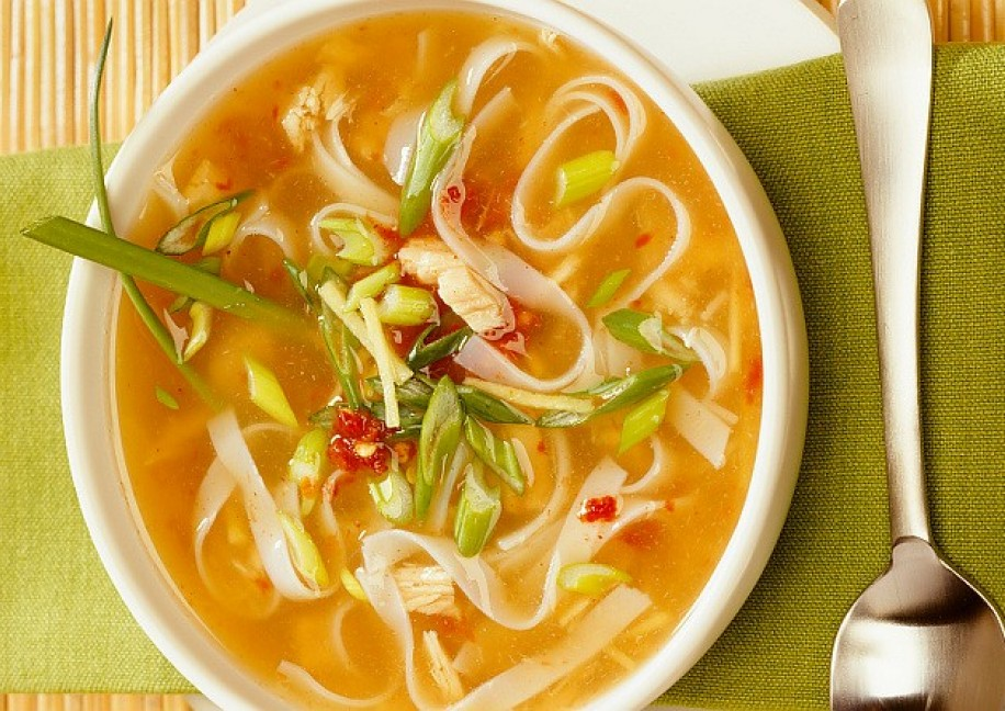 Fish Noodle Soup Overcoming Ms