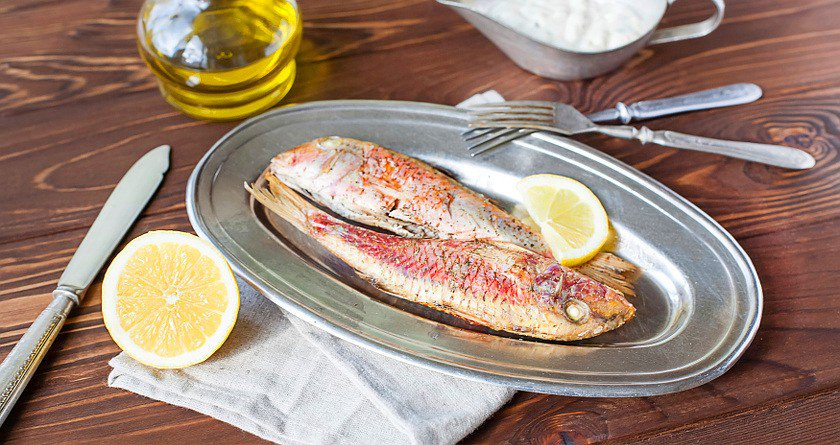 Baked Fish with Lemon and Mint