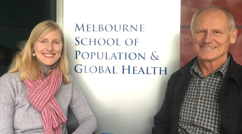 Prof George Jelinek and Ass Prof Tracey Weiland - NEW Research