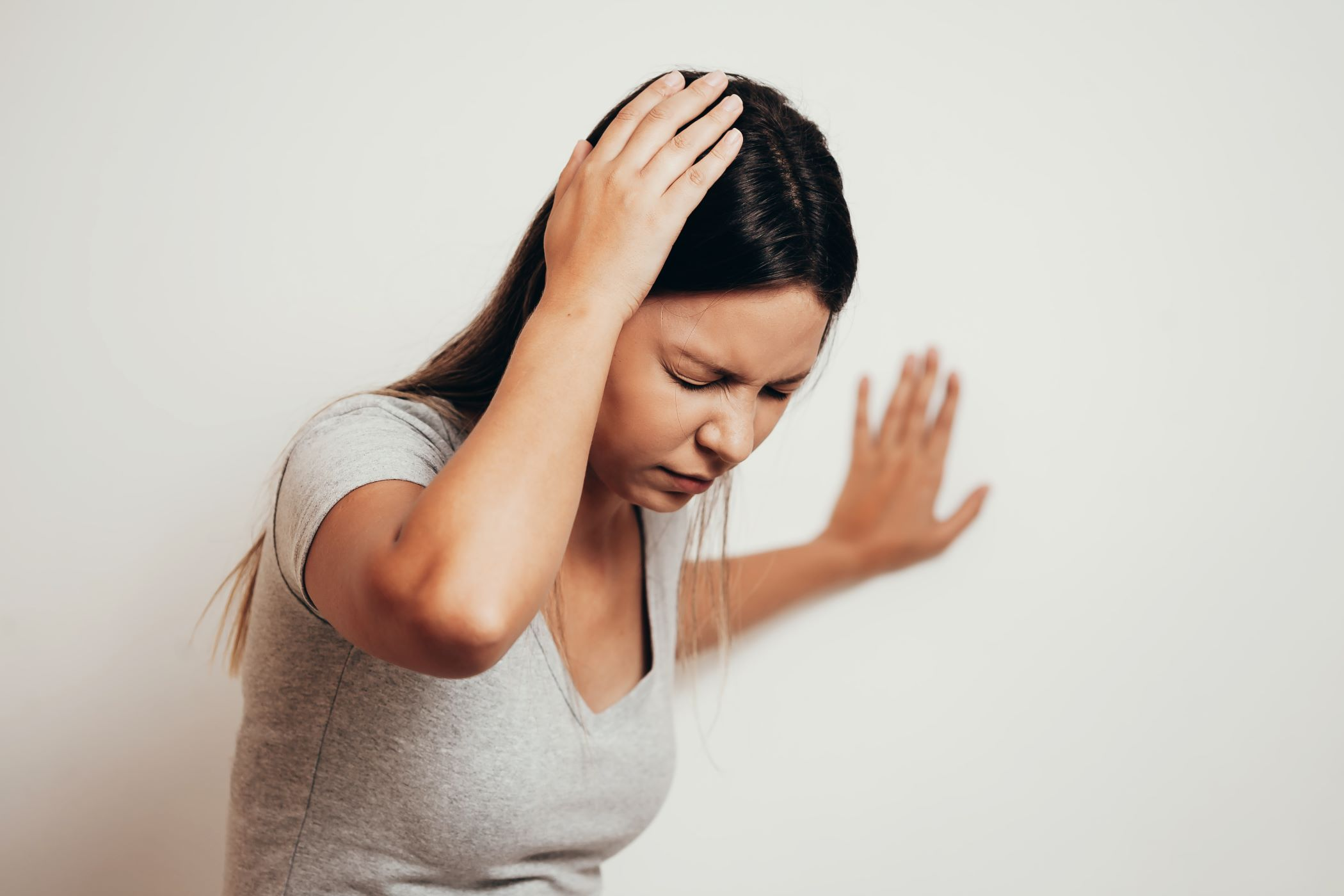 Women with vertigo symptoms